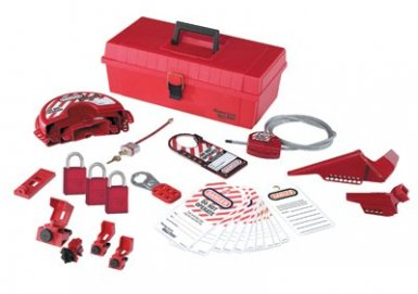 MASTER LOCK 1457VE1106KA Safety Series Personal Lockout Kits