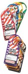 MASTER LOCK 427AST Safety Series Labeled Snap-On Hasp Sets