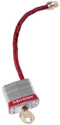 MASTER LOCK 7C5RED Safety Series Circuit Breaker Switch Padlocks