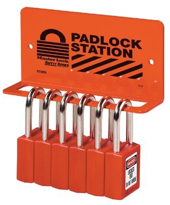 MASTER LOCK S1506 Safety Series Heavy Duty Padlock Racks