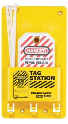 MASTER LOCK S1601A Safety Series Compact Tag Stations