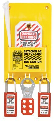 MASTER LOCK S1601AX Safety Series Compact Tag Stations