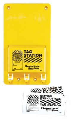 MASTER LOCK S1601FRC Safety Series Compact Tag Stations