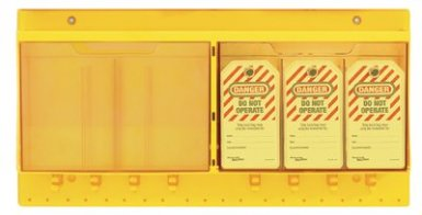 MASTER LOCK S1800 Safety Series Deluxe Tag Centers