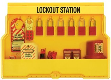 MASTER LOCK S1850E1106 Safety Series Lockout Stations