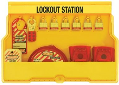 MASTER LOCK S1850V3 Safety Series Lockout Stations