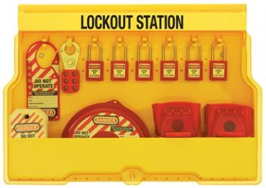 MASTER LOCK S1850V410 Safety Series Lockout Stations