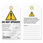 MASTER LOCK S4800LEN Self-Laminating Photo ID Tags