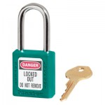 MASTER LOCK 410MKW417TEAL Zenex Thermoplastic Safety Padlocks