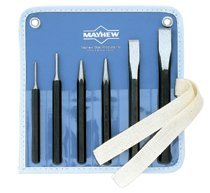 Mayhew Tools 61005 Mayhew Tools 6 Pc. Punch & Chisel Kits