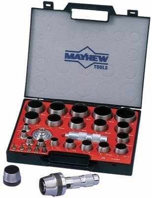 Mayhew Tools 66002 Mayhew Tools 27 Pc Hollow Punch Tool Kits