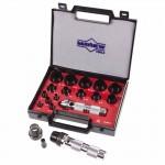 Mayhew Tools 66004 Mayhew Tools 16 Pc Hollow Punch Tool Kits
