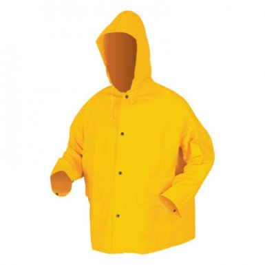 MCR Safety 200JHL 200JH Classic Series Hooded Rain Jackets
