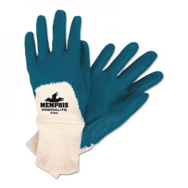 MCR Safety 9780S 9780 Predalite Light Nitrile Coated Palm Gloves