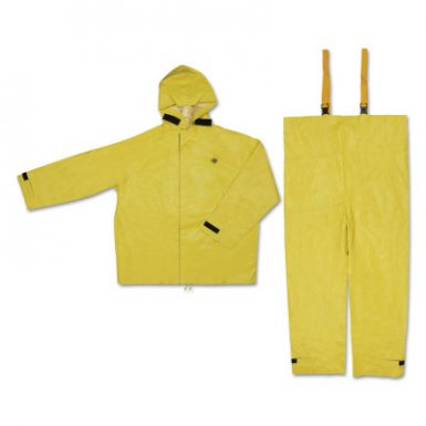 MCR Safety 8402X2 Hydroblast Suit Jackets with Attached Hoods & Bib Pants