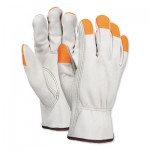 MCR Safety 3213SCHVSP Memphis Glove Select Grain Cow Leather Drivers Gloves