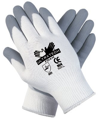 MCR Safety 9674XS Memphis Glove Foam Nitrile Coated Gloves