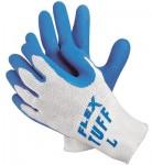 MCR Safety 9680L Memphis Glove Flex Tuff Latex Dipped Gloves