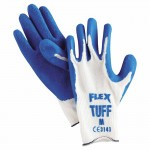 MCR Safety 9680M Memphis Glove Flex Tuff Latex Dipped Gloves