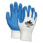 MCR Safety 9680S Memphis Glove Flex Tuff Latex Dipped Gloves