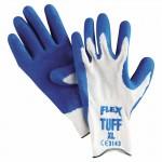 MCR Safety 9680XL Memphis Glove Flex Tuff Latex Dipped Gloves