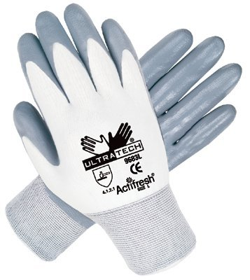 MCR Safety 9683M Memphis Glove Ultra Tech Nitrile Coated Gloves