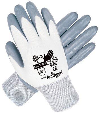MCR Safety 9683XL Memphis Glove Ultra Tech Nitrile Coated Gloves
