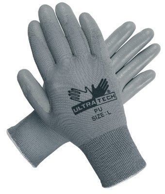 MCR Safety 9696L Memphis Glove UltraTech PU Coated Gloves