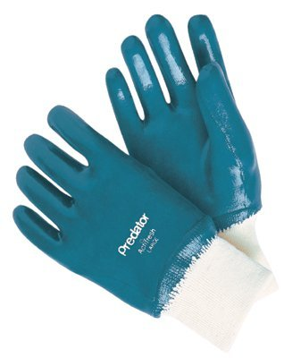MCR Safety 9760R Memphis Glove Predator Nitrile Coated Gloves