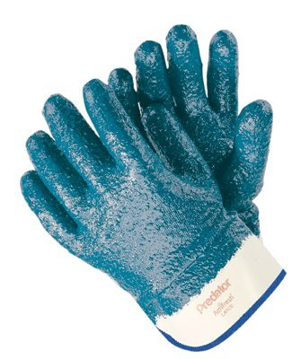 MCR Safety 9761R Memphis Glove Predator Nitrile Coated Gloves