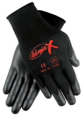 MCR Safety N9674S Memphis Glove Ninja X Bi-Polymer Coated Palm Gloves