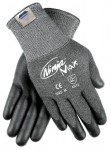 MCR Safety N9676GM Memphis Glove Ninja Max Bi-Polymer Coated Palm Gloves