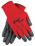 MCR Safety N9680S Memphis Glove Ninja Flex Latex Coated Palm Gloves