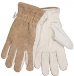 MCR Safety 3204KL Memphis Glove Split Leather Back Gloves