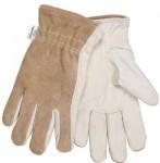 MCR Safety 3204KXL Memphis Glove Split Leather Back Gloves