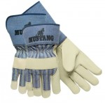 MCR Safety 1936L Memphis Glove Premium Grain Leather Palm Gloves