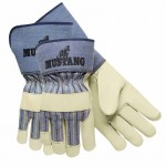 MCR Safety 1936XL Memphis Glove Premium Grain Leather Palm Gloves