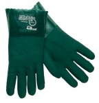 MCR Safety 6412 Memphis Glove Premium Double-Dipped PVC Gloves