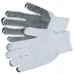 MCR Safety 9650LM Memphis Glove PVC Dot String Knit Gloves