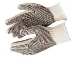 MCR Safety 9660LM Memphis Glove PVC Dot String Knit Gloves