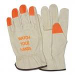 """MCR Safety 3413HVIXL Memphis Glove """"Watch Your Hands"""" Drivers Gloves"""