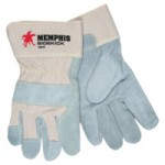 MCR Safety 16010M Memphis Glove Sidekick Double Select Side Leather Gloves