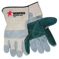 MCR Safety 16012MN Memphis Glove Sidekick Double Select Side Leather Gloves