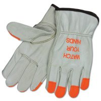 "MCR Safety 3213hvixxl Memphis Glove ""Watch Your Hands"" Drivers Gloves"