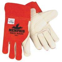 MCR Safety 4921XL Memphis Glove Red Ram  Welders Gloves