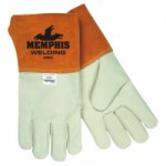 MCR Safety 4952L Memphis Glove Grain Cow MIG/TIG Welders Gloves