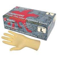 MCR Safety 5054L Memphis Glove SENSAGUARD Disposable Latex Gloves