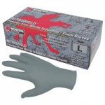 MCR Safety 6010GYL Memphis Glove Nitrile Disposable Gloves