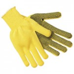 MCR Safety 9361L Memphis Glove 1-Sided PVC Dotted Gloves