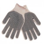 MCR Safety 9660LMB Memphis Glove PVC Dot String Knit Gloves